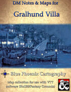 DM Notes & Maps for Gralhund Villa 3.1 Waterdeep: Dragon Heist (single)