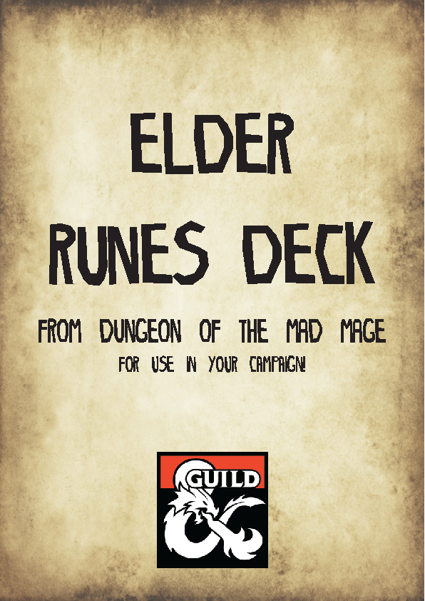 Elder Runes of Dungeon of the Mad Mage - Dungeon Masters