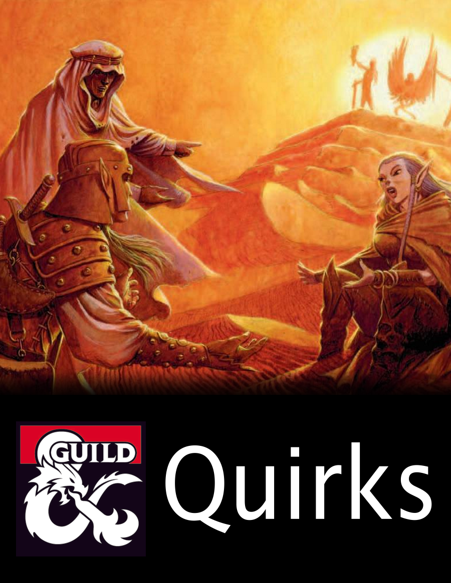 Quirks (5e Rules)