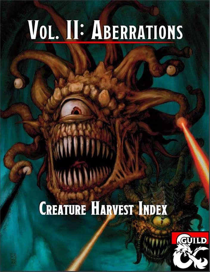 Creature Harvest Index - Aberrations
