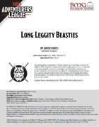 CCC-BMG-44 PHLAN 4-2 Long Leggity Beasties