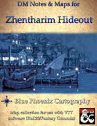 DM Notes & Maps for Zhentarim Hideout 1.1 Waterdeep: Dragon Heist (single)