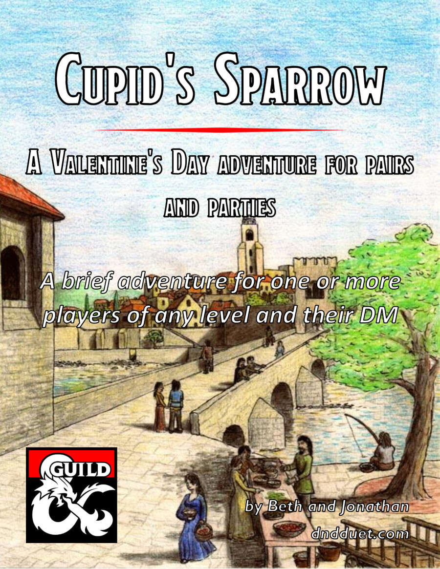Cover of Cupid's Sparrow