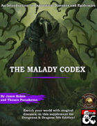 The Malady Codex: The Guide to Diseases (Fantasy Grounds)