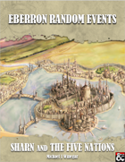 Eberron Random Events: Sharn and the Five Nations