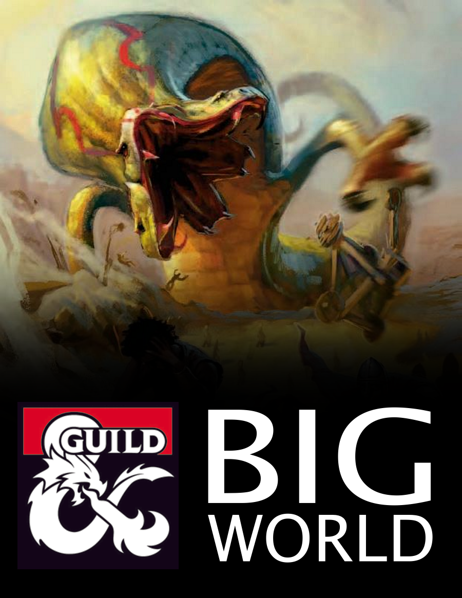 Big World (5e Rules) - Dungeon Masters Guild   Dungeon