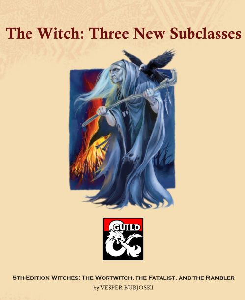 The Witch: 3 New Subclasses