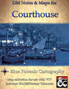 DM Notes & Maps for Courthouse 4.6 Waterdeep: Dragon Heist (single)