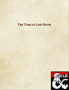 Tome of Lost Races