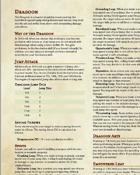 Dragoon Subclass