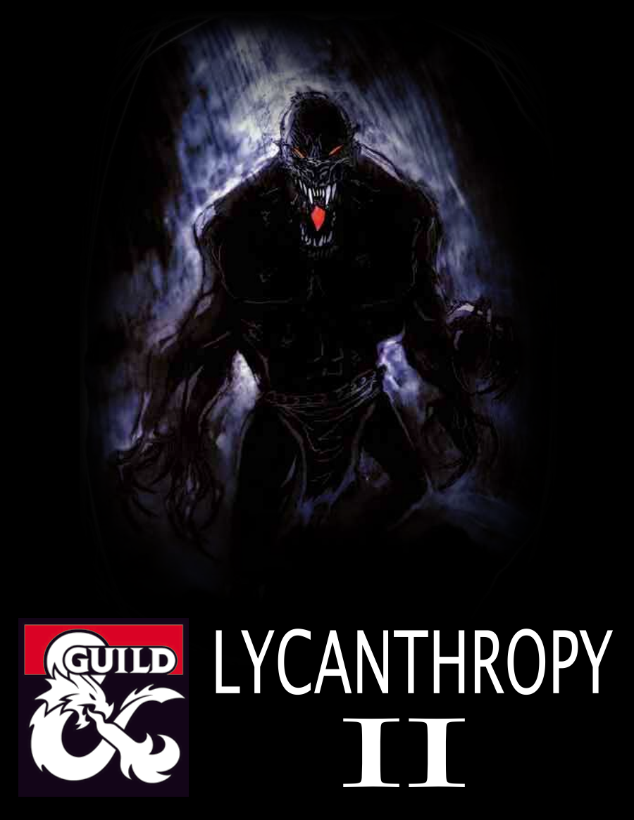 Lycanthropy II (5e Rules) - Dungeon Masters Guild | Dungeon