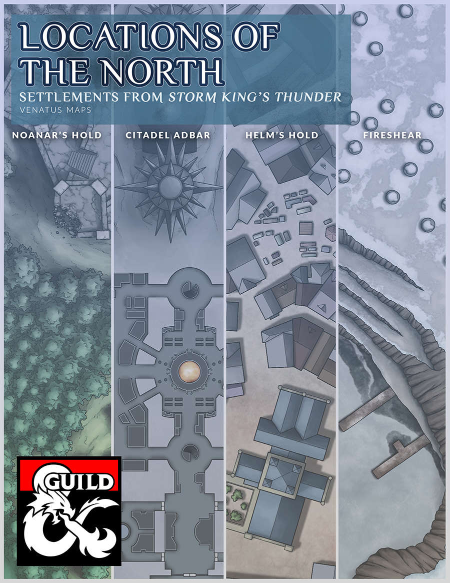 Locations of the North - Dungeon Masters Guild | Dungeon Masters Guild