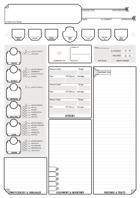 Sleepy's Simpler 5e Character Sheet