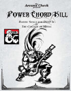 Power Chord: Kill
