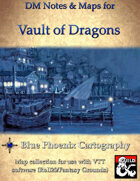 DM Notes & Maps for Vault of Dragons 4.1  for Waterdeep: Dragon Heist (single)