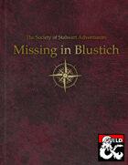 Missing in Blustich