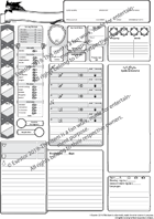 Treasure Hunter Character Sheet