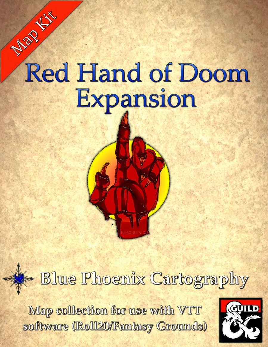 The Red Hand of Doom 5E Conversion Guide and Expanded Map Packs