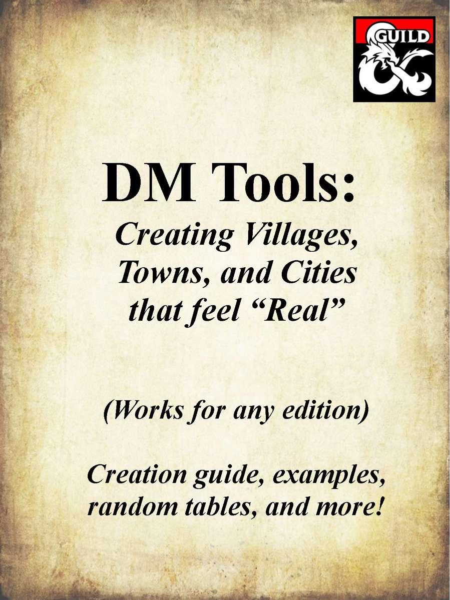 DM Tools: Create