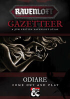 Ravenloft Gazetteer: Odiare