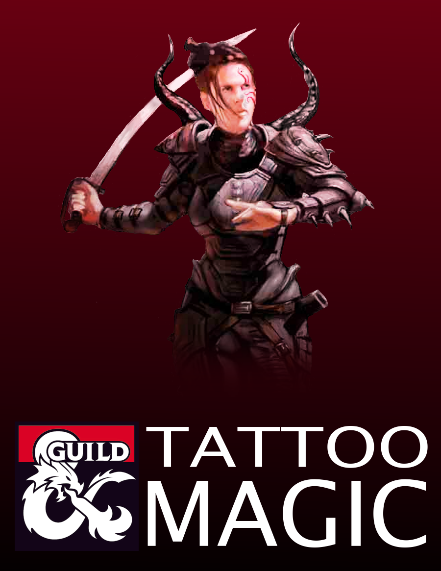 Tattoo Magic (5e Rules) - Dungeon Masters Guild | Dungeon Masters Guild