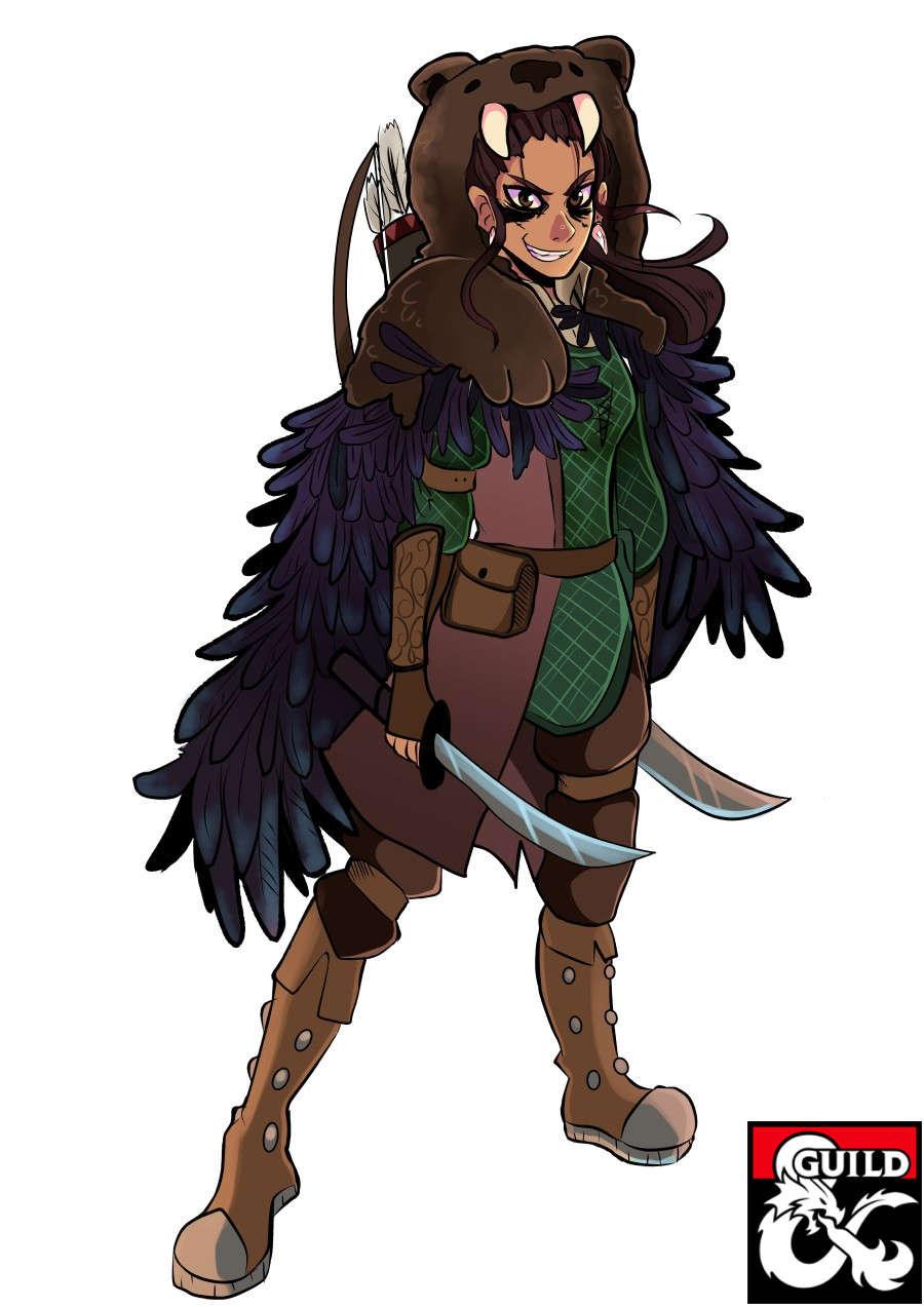 Half Orc Rogue 5e