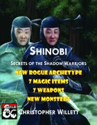 Shinobi: Secrets of the Shadow Warriors