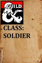 Soldier Class 1.0