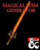 Magical Item Generator