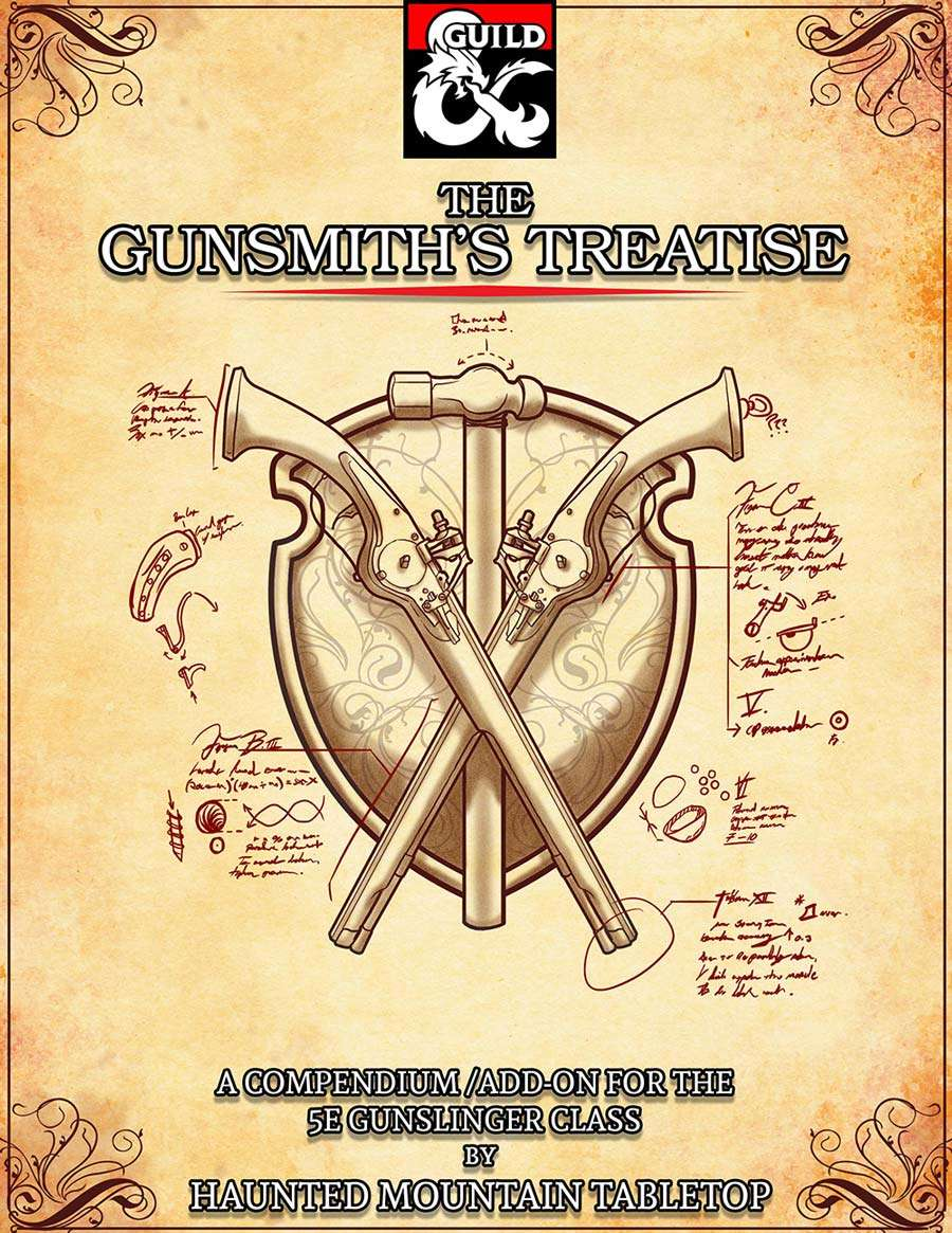 The Gunsmith's Treatise - Dungeon Masters Guild | Dungeon Masters Guild