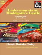 Classic Modules Today: Undermountain, Maddgoth's Castle (5e)