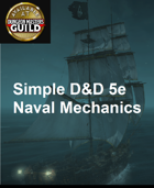 Simple D&D Naval Combat Mechanics