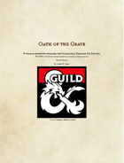 Play Test: Oath of the Grave