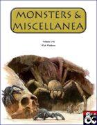 Monsters & Miscellanea 1-01
