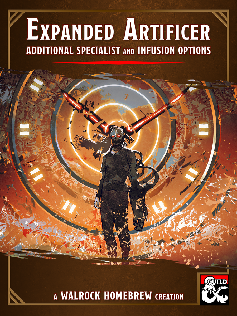 Wh Expanded Artificer New Subclass And Infusion Options Dungeon Masters Guild Dungeon Masters Guild Are there already spell cards out that will cover the artificer's spell list. usd