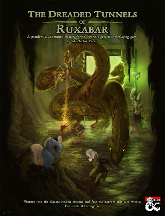 Cover of The Dreaded Tunnels of Ruxabar