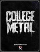 College of Metal