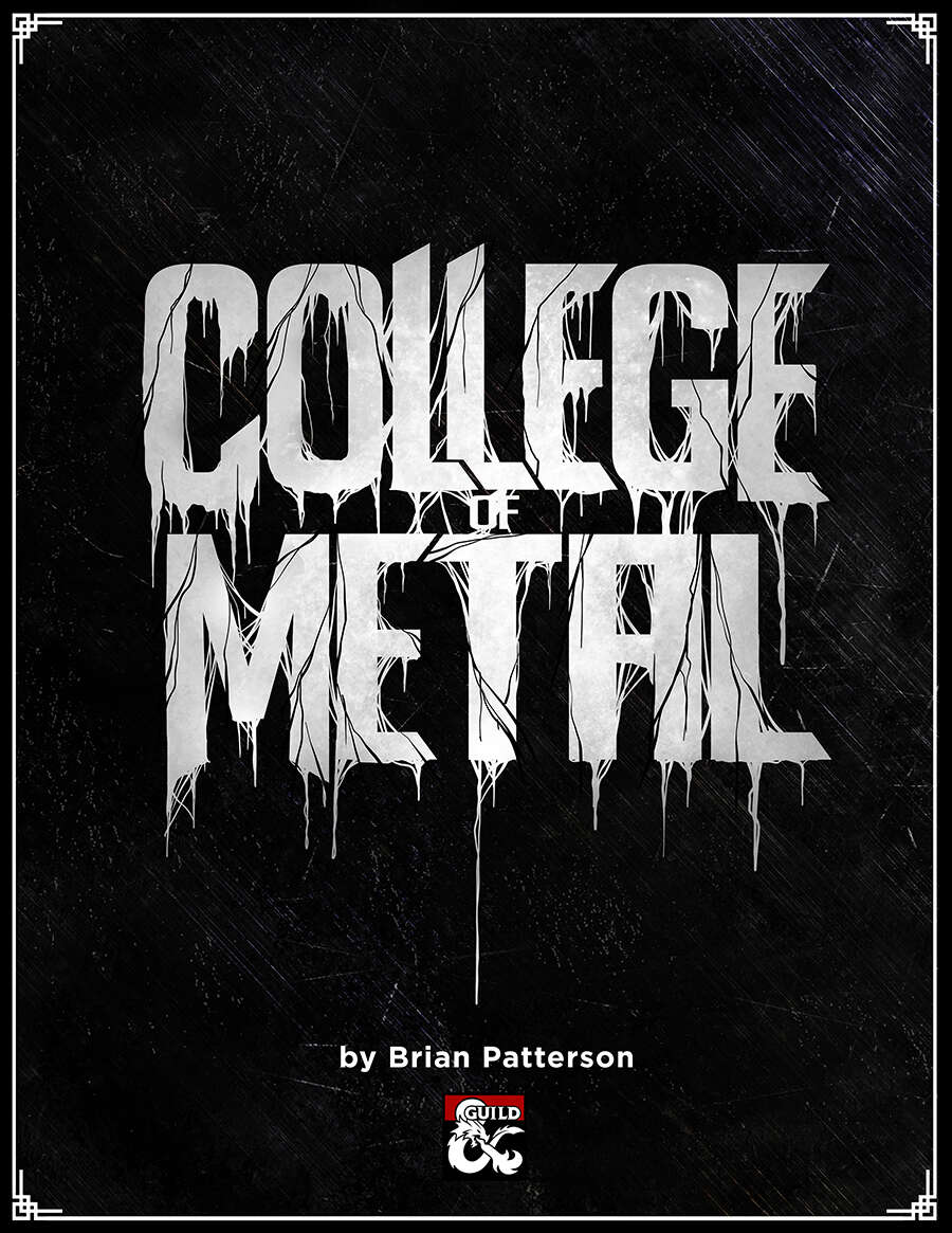 College of Metal - Dungeon Masters Guild | Dungeon Masters Guild