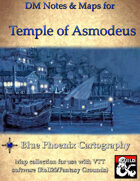 DM Notes & Maps for Temple of Asmodeus 6.2 for Waterdeep: Dragon Heist (single)