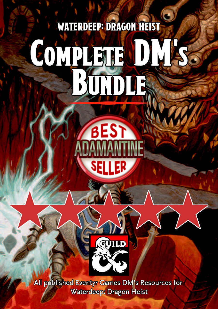 Waterdeep: Dragon Heist Complete DM's Bundle