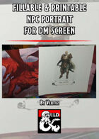 photograph relating to Printable Dm Screen known as Dungeon Masters Guild - GM Displays PDF -