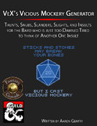VeX's Vicious Mockery Insult Generator (Fantasy Grounds)