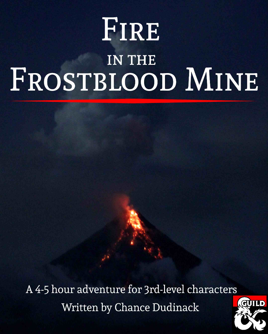 Cover of Fire in the Frostblood Mine