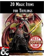 20 Magic Items for Tieflings