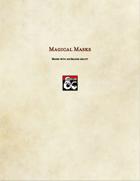 Item-Magical Masks