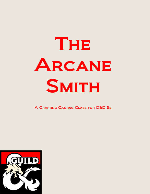 The Arcane Smith - Dungeon Masters Guild | Dungeon Masters Guild