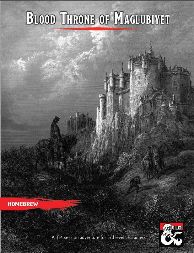 Cover of Blood Throne of Maglubiyet