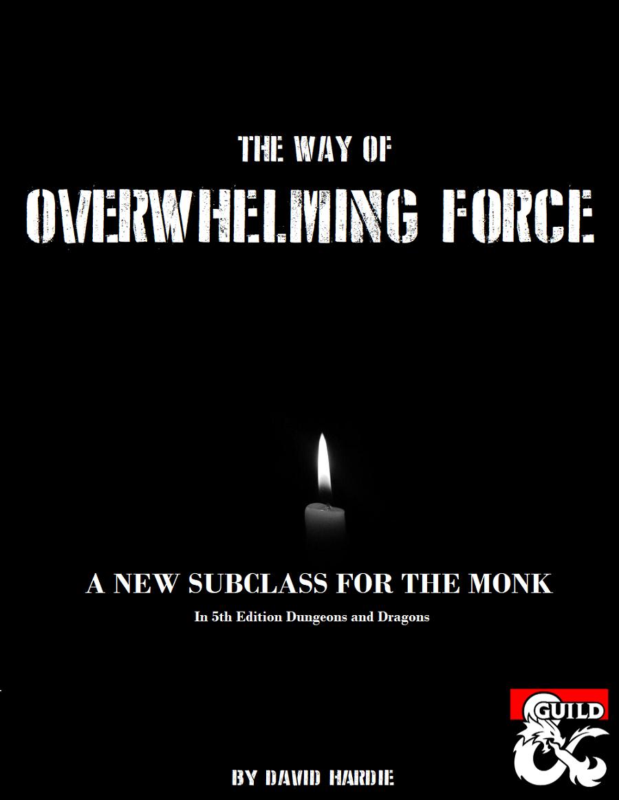 Broken Monk Build 5e
