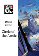 Druid Circle - Circle of the Arctic