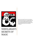 Nebularian's Secrets of Magic